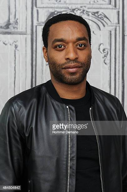 Actor Chiwetel Ejiofor attends AOL's BUILD Speaker Series Presetn Z For Zachariah at AOL Studios In New York on August 19 2015 in New York City