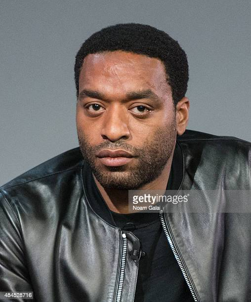 Actor Chiwetel Ejiofor attends Meet The Filmmaker 'Z for Zachariah' at Apple Store Soho on August 19 2015 in New York City
