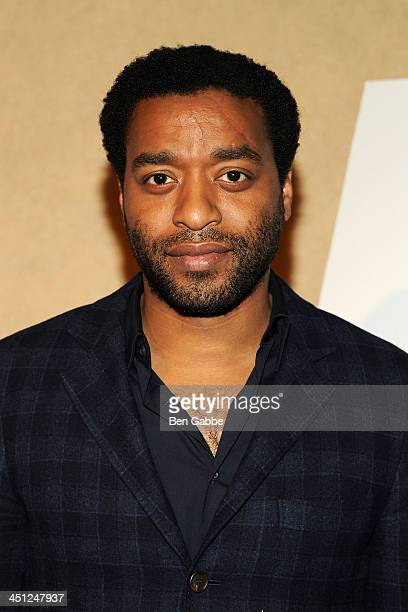 Actor Chiwetel Ejiofor attends the 2013 Variety Screening Series of '12 Years A Slave' at Chelsea Bow Tie Cinemas on November 21 2013 in New York City