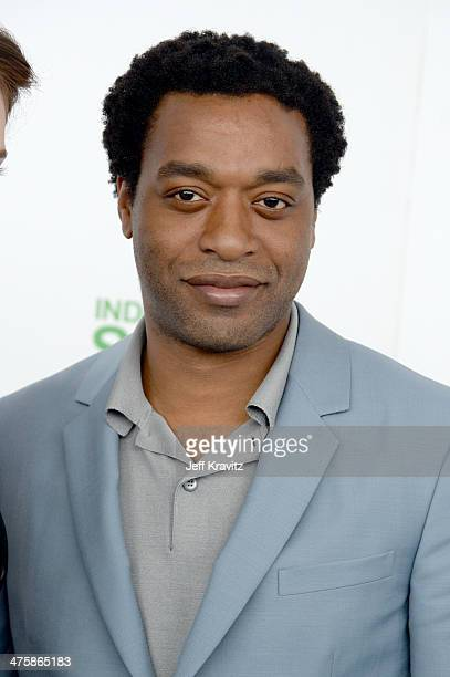 Actor Chiwetel Ejiofor attends the 2014 Film Independent Spirit Awards on March 1 2014 in Santa Monica California
