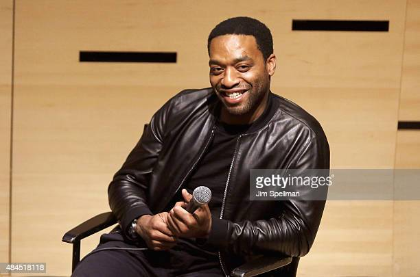 Actor Chiwetel Ejiofor attends the 2015 Film Society of Lincoln Center Summer Talks with 'Z for Zachariah' at Elinor Bunin Munroe Film Center on...