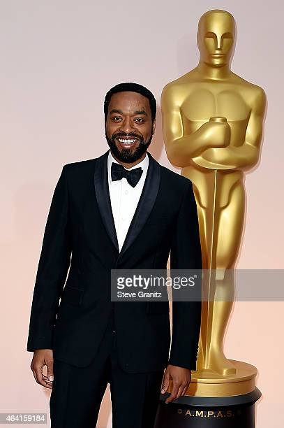 Actor Chiwetel Ejiofor attends the 87th Annual Academy Awards at Hollywood Highland Center on February 22 2015 in Hollywood California