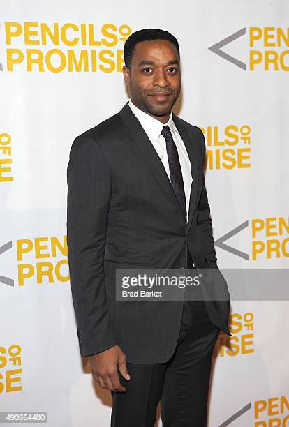 Actor Chiwetel Ejiofor attends the Pencils Of Promise Gala 2015 at Cipriani Wall Street on October 21 2015 in New York City