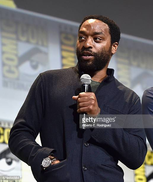 "Actor Chiwetel Ejiofor from Marvel Studios' 'Doctor Strange"" attends the San Diego ComicCon International 2016 Marvel Panel in Hall H on July 23 2016..."