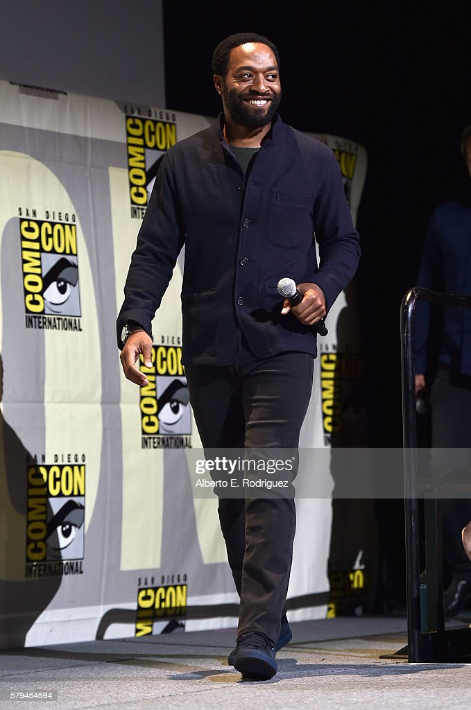 """Actor Chiwetel Ejiofor from Marvel Studios' 'Doctor Strange"""" attends the San Diego Comic-Con International 2016 Marvel Panel in Hall H on July 23, 2016 in San Diego, California. ©Marvel Studios 2016"""
