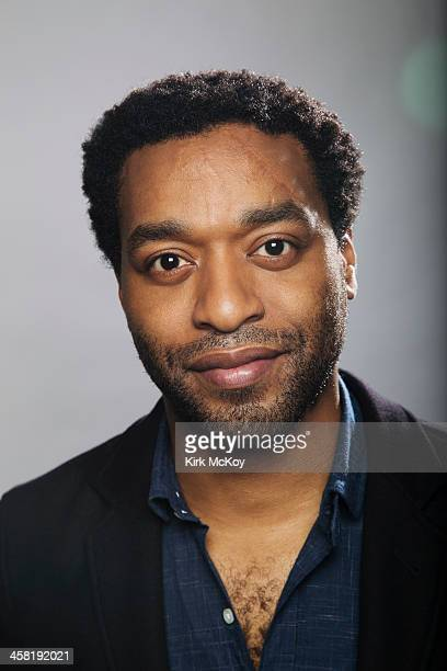 Actor Chiwetel Ejiofor is photographed for Los Angeles Times on November 10 2013 in Los Angeles California PUBLISHED IMAGE