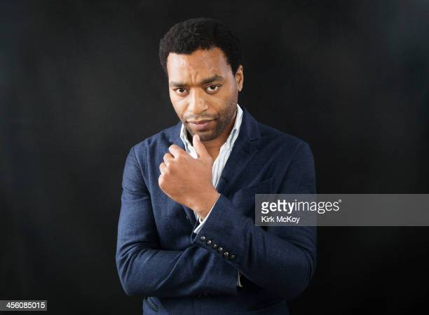 Actor Chiwetel Ejiofor is photographed for Los Angeles Times on October 15 2013 in Los Angeles California PUBLISHED IMAGE CREDIT MUST BE Kirk...