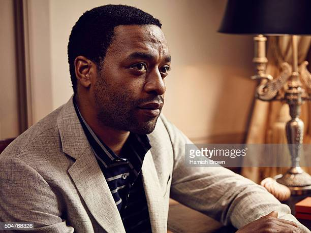 Actor Chiwetel Ejiofor is photographed for Red magazine on June 5 2015 in London England
