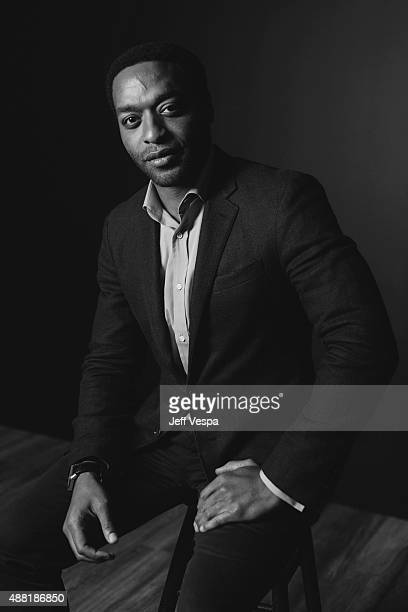 Actor Chiwetel Ejiofor of The Martian poses for a portrait at the 2015 Toronto Film Festival at the TIFF Bell Lightbox on September 11 2015 in...