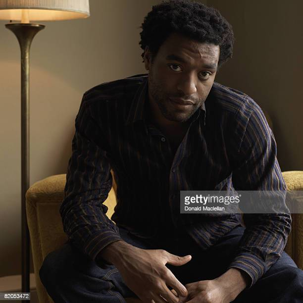 Actor Chiwetel Ejiofor poses for a portrait shoot in London on March 27 2007
