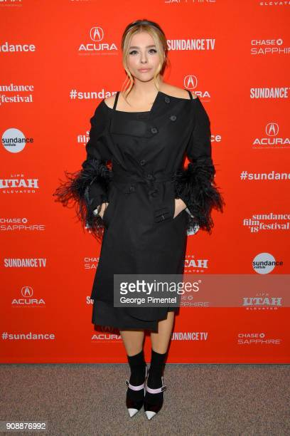 Actor Chloë Grace Moretz attends the 'The Miseducation Of Cameron Post' And 'I Like Girls' Premieres during the 2018 Sundance Film Festival at Eccles...