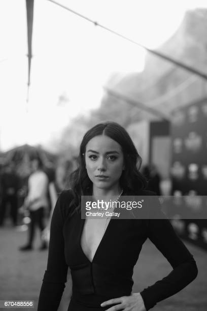 """Actor Chloe Bennet at The World Premiere of Marvel Studios' """"Guardians of the Galaxy Vol 2"""" at Dolby Theatre in Hollywood CA April 19th 2017"""