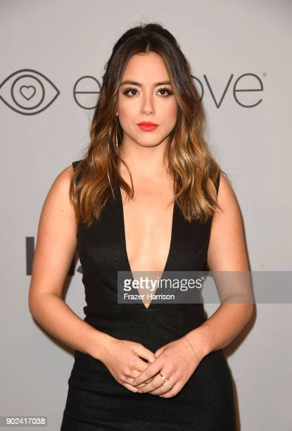 Actor Chloe Bennet attends 19th Annual PostGolden Globes Party hosted by Warner Bros Pictures and InStyle at The Beverly Hilton Hotel on January 7...