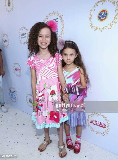 Actor Chloe Coleman and guest attend Safe Kids Day 2017 at Smashbox Studios on April 23 2017 in Culver City California