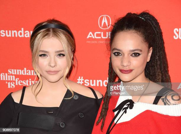 Actor Chloe Grace Moretz and Sasha Lane attend the 'The Miseducation Of Cameron Post' And 'I Like Girls' Premieres during the 2018 Sundance Film...