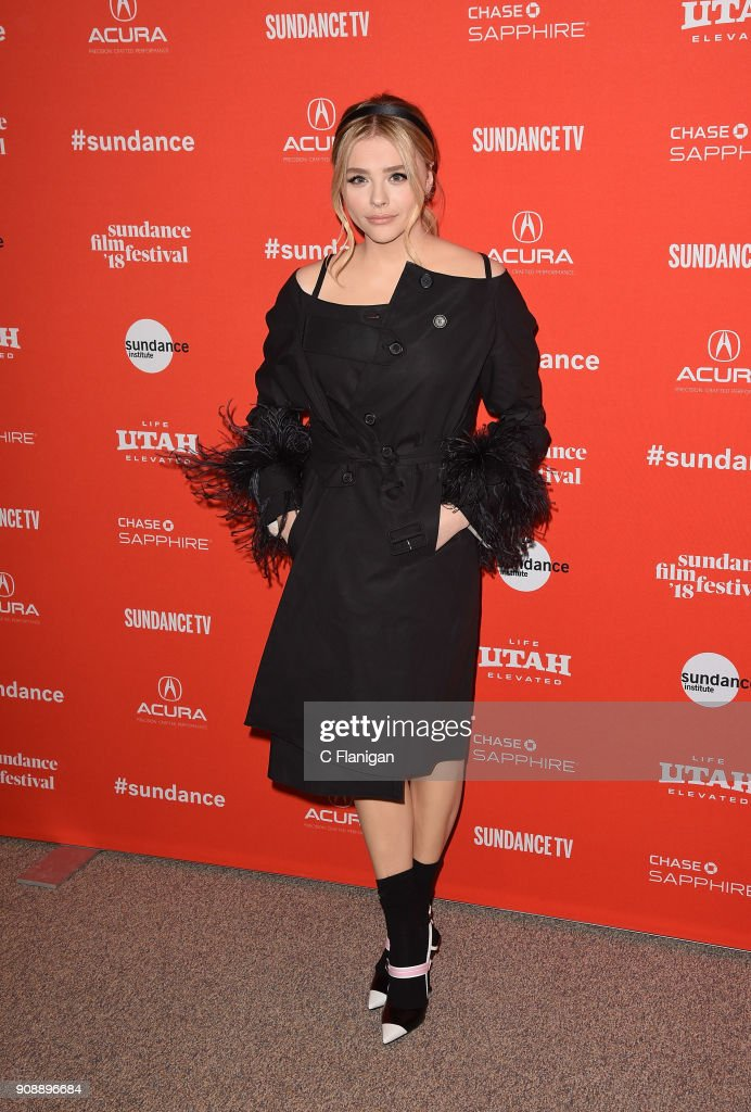 Actor Chloe Grace Moretz attends the 'The Miseducation Of Cameron Post' And 'I Like Girls' Premieres during the 2018 Sundance Film Festival at Eccles Center Theatre on January 22, 2018 in Park City, Utah.