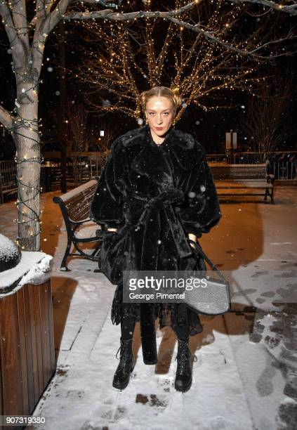 Actor Chloe Sevigny attends the 'Lizzie' Premiere during the 2018 Sundance Film Festival at Park City Library on January 19 2018 in Park City Utah