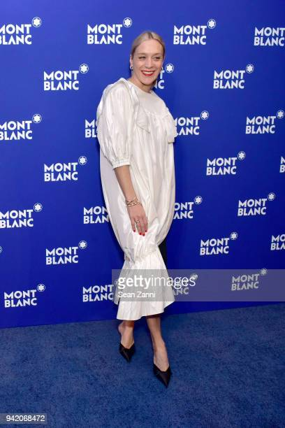 Actor Chloe Sevigny attends the Montblanc Meisterstuck Le Petit Prince event at One World Trade Center Observatory on April 4 2018 in New York City