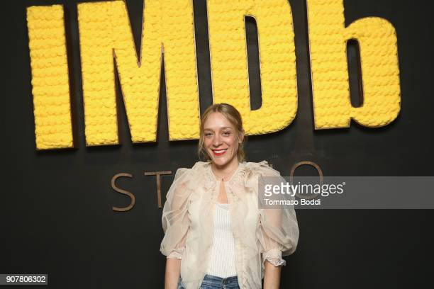 Actor Chloe Sevigny of 'Lizzie' attends The IMDb Studio and The IMDb Show on Location at The Sundance Film Festival on January 20 2018 in Park City...