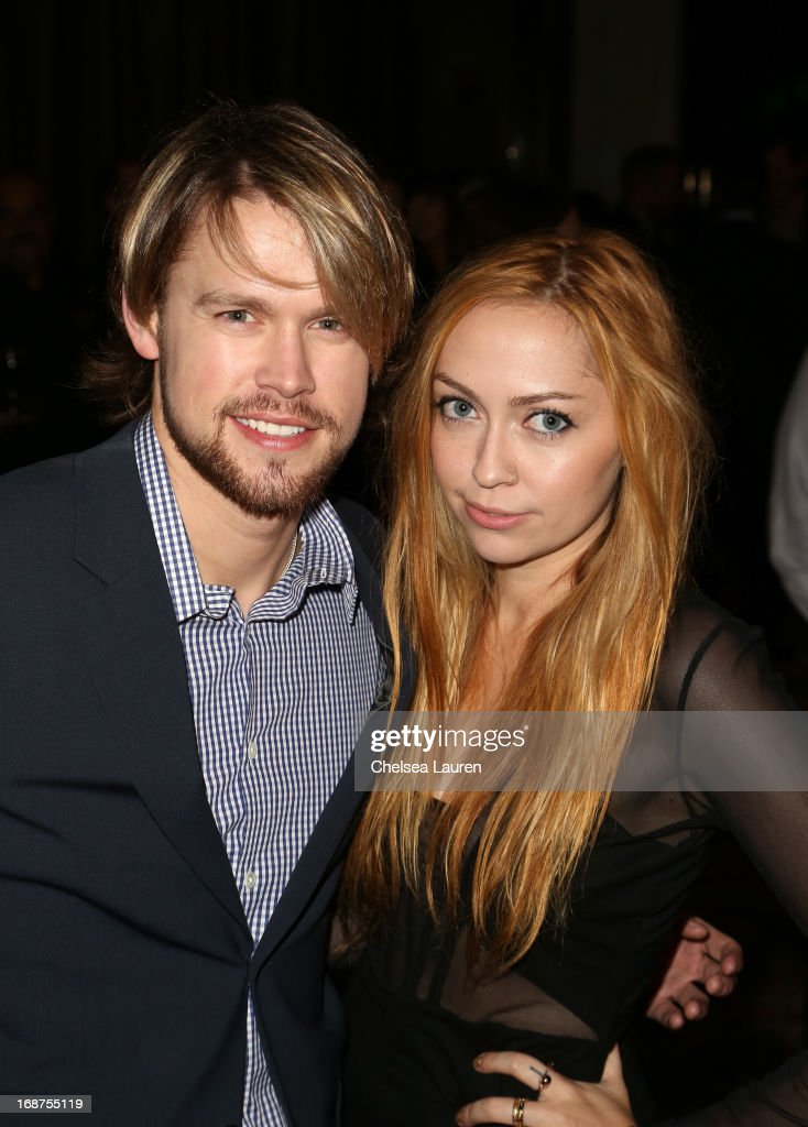 Actor Chord Overstreet and songwriter Brandi Cyrus attend the 2013 BMI Pop Awards at the Beverly Wilshire Four Seasons Hotel on May 14, 2013 in Beverly Hills, California.