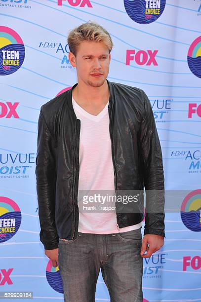 Actor Chord Overstreet arrives at the 2012 Teen Choice Awards held at the Gibson Amphitheatre in Universal City California