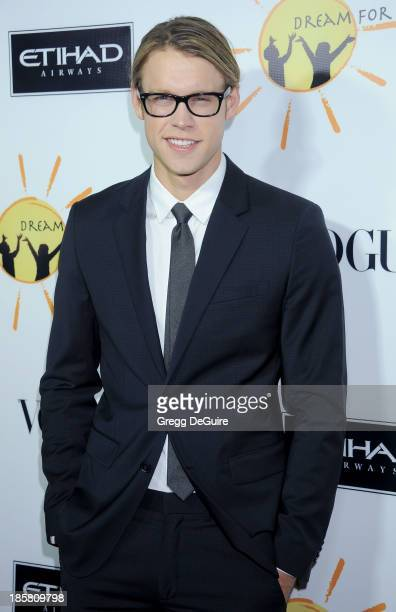 Actor Chord Overstreet arrives at the Dream For Future Africa Foundation Gala at Spago on October 24, 2013 in Beverly Hills, California.