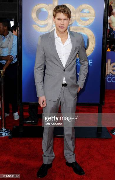 """Actor Chord Overstreet arrives at the Los Angeles Premiere """"GLEE: The 3D Concert Movie"""" at Regency Village Theatre on August 6, 2011 in Westwood,..."""