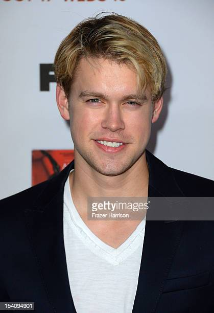 Actor Chord Overstreet arrives at the Premiere Screening of FX's 'American Horror Story Asylum' at the Paramount Theatre on October 13 2012 in...