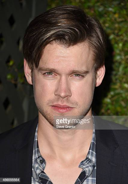 Actor Chord Overstreet attends Claiborne Swanson Frank's Young Hollywood book launch hosted by Michael Kors at Private Residence on October 2 2014 in...
