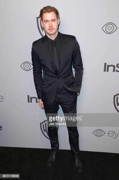 Actor Chord Overstreet attends the 2018 InStyle and Warner Bros 75th Annual Golden Globe Awards PostParty at The Beverly Hilton Hotel on January 7...