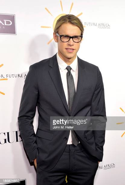 Actor Chord Overstreet attends the Dream For Future Africa Foundation's Inaugural Gala Honoring Franca Sozzani Of VOGUE Italia at Spago on October 24...