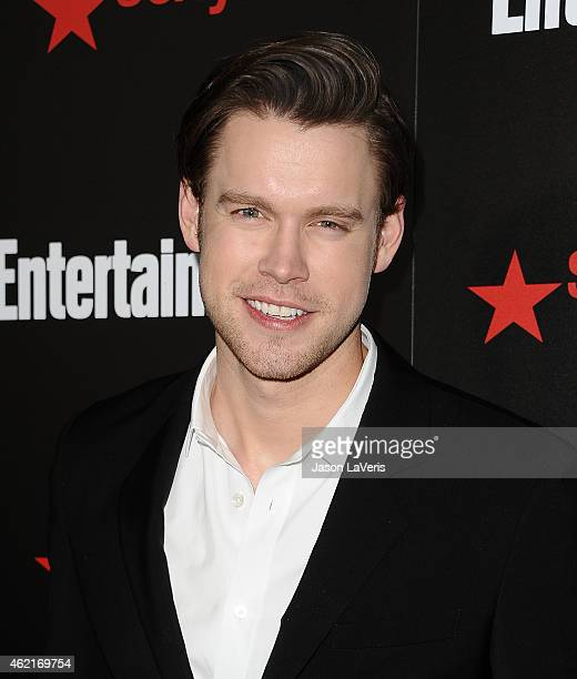 Actor Chord Overstreet attends the Entertainment Weekly celebration honoring nominees for the Screen Actors Guild Awards at Chateau Marmont on...