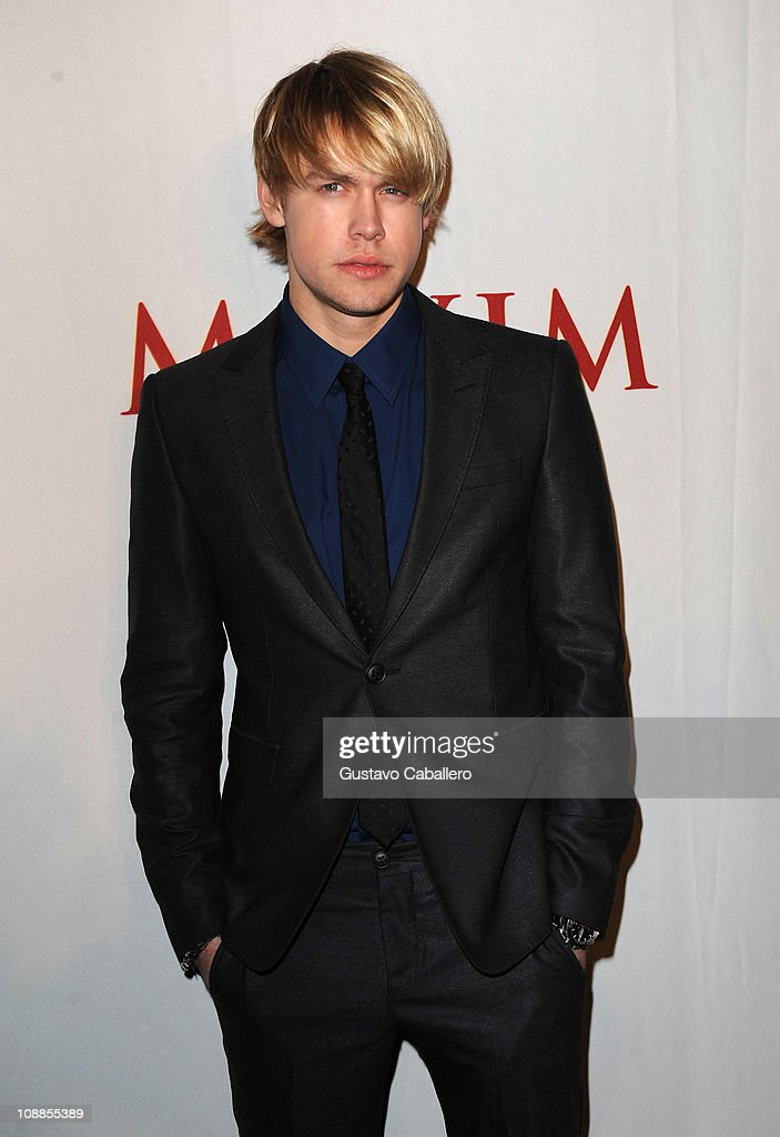 Actor Chord Overstreet attends the Maxim Party Powered by Motorola Xoom at Centennial Hall at Fair Park on February 5, 2011 in Dallas, Texas.