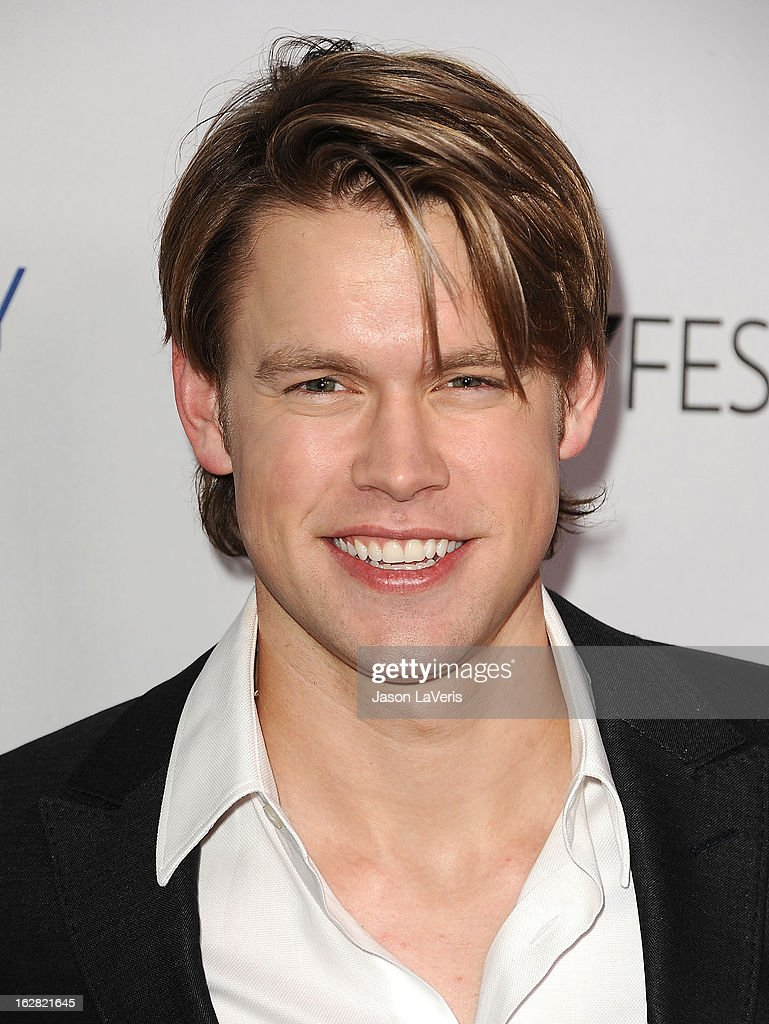 Actor Chord Overstreet attends the PaleyFest Icon Award presentation at The Paley Center for Media on February 27, 2013 in Beverly Hills, California.