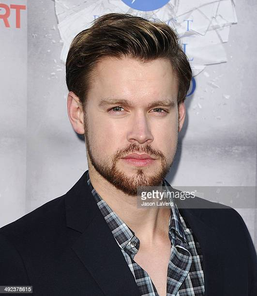 Actor Chord Overstreet attends the premiere of 'The Normal Heart' at The Writers Guild Theatre on May 19 2014 in Beverly Hills California