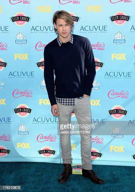 Actor Chord Overstreet attends the Teen Choice Awards 2013 at Gibson Amphitheatre on August 11 2013 in Universal City California