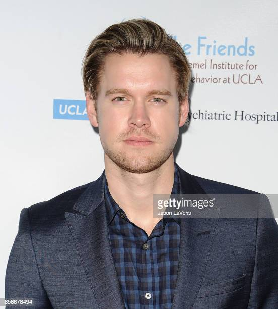Actor Chord Overstreet attends UCLA's Semel Institute's biannual 'Open Mind Gala' at The Beverly Hilton Hotel on March 22 2017 in Beverly Hills...