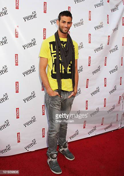 Actor Chris attends Salvatore CSW and LA Pride Host 'An Evening of Pride' with Sharon Osborune at Club Eleven on June 9 2010 in West Hollywood...