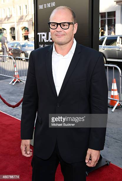 Actor Chris Bauer attends Premiere Of HBO's True Blood Season 7 And Final Season at TCL Chinese Theatre on June 17 2014 in Hollywood California
