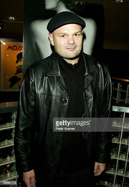 Actor Chris Bauer attends the premiere of Iron Jawed Angels February 9 2004 in New York City