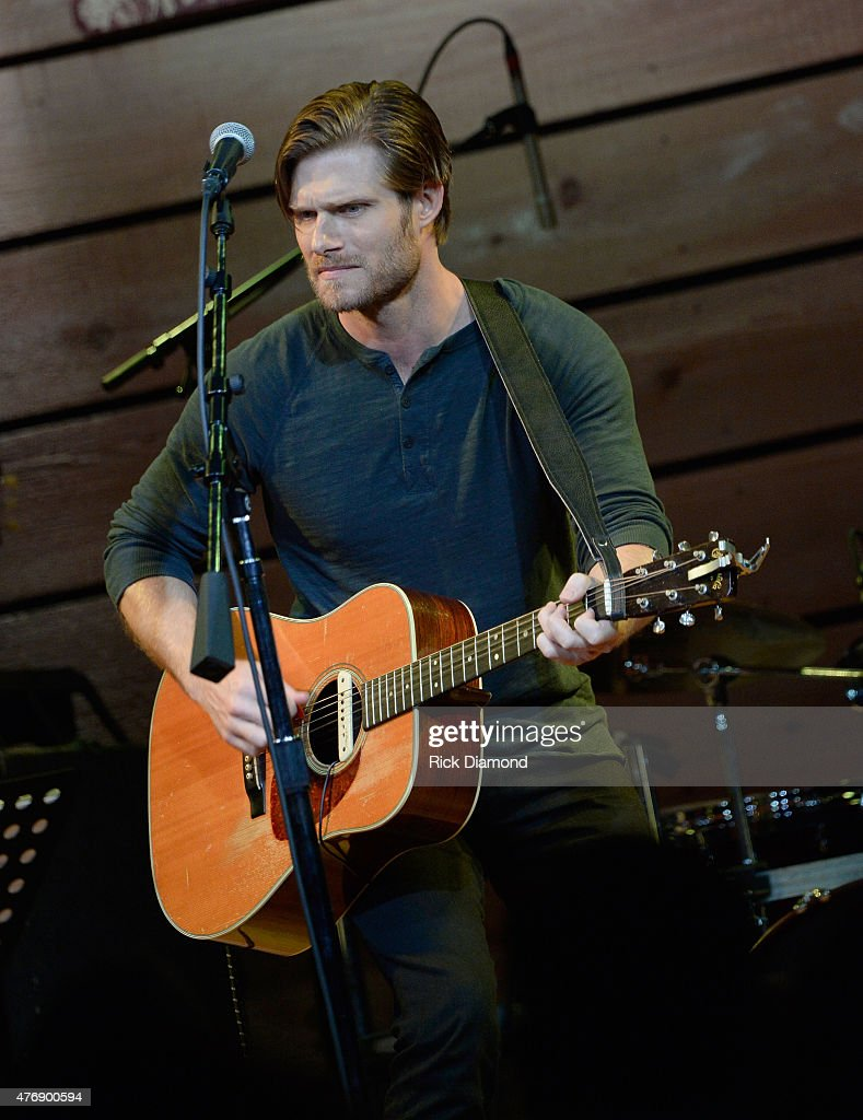 Actor Chris Carmack performs on stage at The Concert For Love And Acceptance at City Winery Nashville on June 12, 2015 in Nashville, Tennessee.