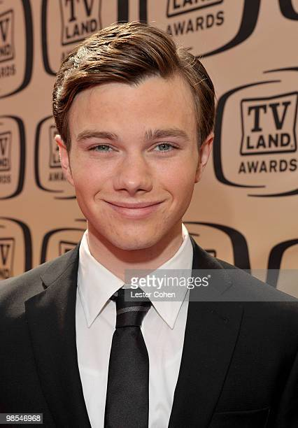 Actor Chris Colfer arrives at the 8th Annual TV Land Awards at Sony Studios on April 17 2010 in Los Angeles California