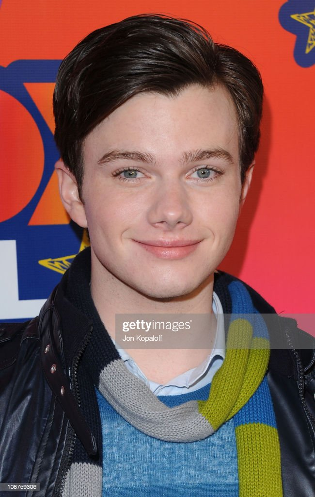 Actor Chris Colfer arrives at the Fox All-Star Party at Pacific Park at the Santa Monica Pier on August 2, 2010 in Santa Monica, California.