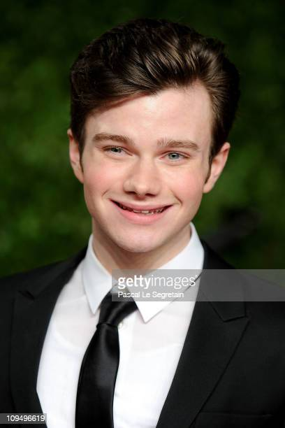 Actor Chris Colfer arrives at the Vanity Fair Oscar party hosted by Graydon Carter held at Sunset Tower on February 27 2011 in West Hollywood...