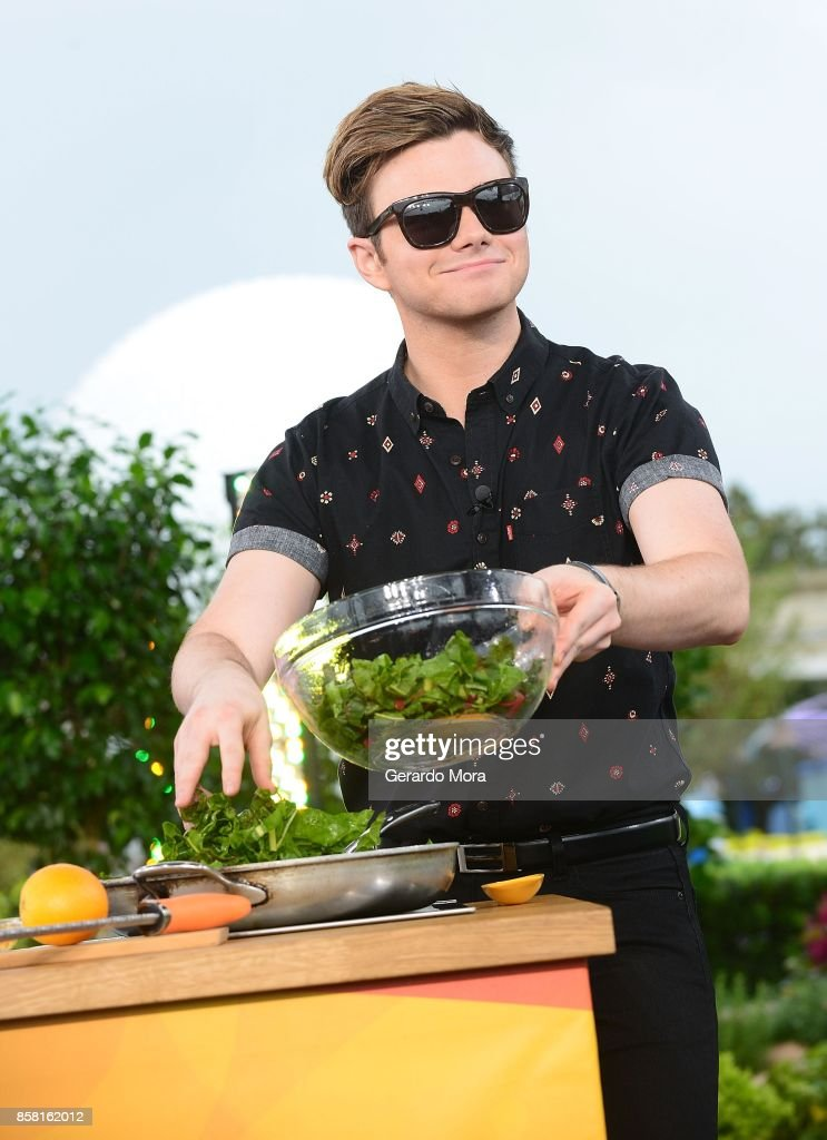 "Chris Colfer Visits ""The Chew"""