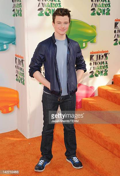 Actor Chris Colfer attends Nickelodeon's 25th Annual Kids' Choice Awards held at Galen Center on March 31 2012 in Los Angeles California