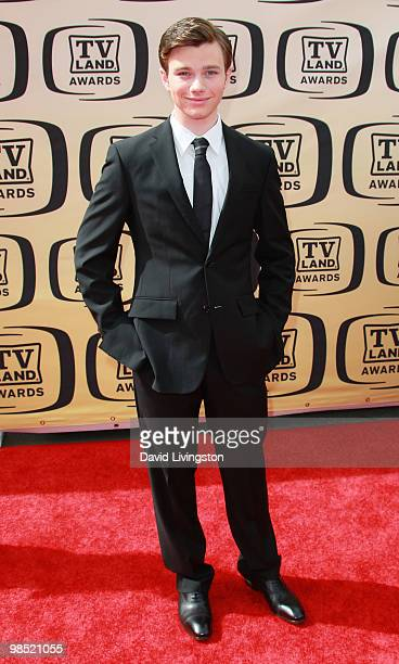 Actor Chris Colfer attends the 8th Annual TV Land Awards at Sony Studios on April 17 2010 in Culver City California
