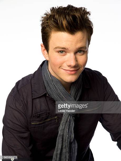 Actor Chris Colfer is photographed for Self Assignment on April 21 2012 in New York City