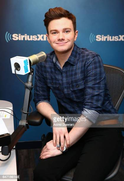 Actor Chris Colfer visits the SiriusXM Studios on March 2 2017 in New York City