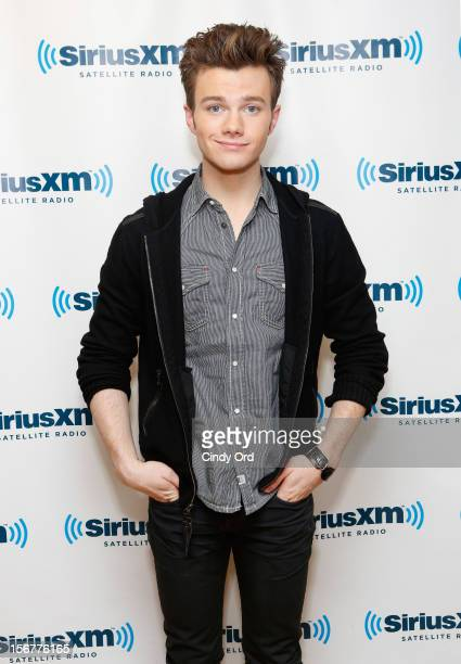 Actor Chris Colfer visits the SiriusXM Studios on November 20 2012 in New York City